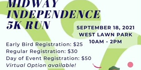 Midway  Independence Day 5k tickets