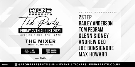 ATONE PRESENTS: THE PARTY tickets