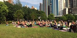 Silent Disco Yoga event August 23rd