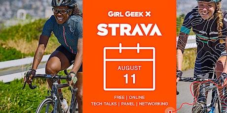 Virtual Strava Girl Geek Dinner Talks & Networking! tickets