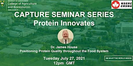 CAPTURE Seminar Series: Protein Innovates #6 tickets