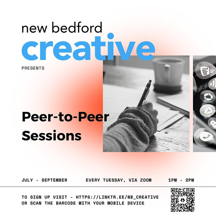 NB Creative Peer-to-Peer Sessions: Grant Writing with Amanda DeGrace image