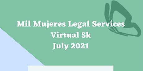 Mil Mujeres Virtual 5K Run tickets