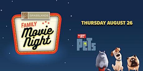 Family Movie Night - Secret Life of Pets tickets