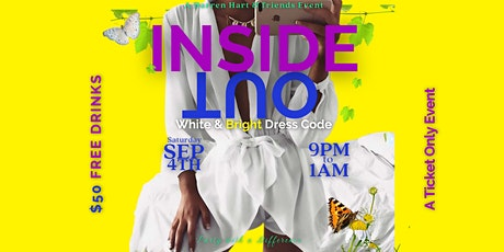 Inside Out - White & Bright Colors tickets
