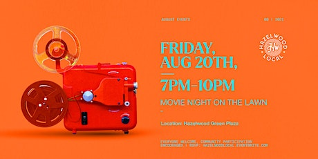 Movie Night on the Lawn tickets