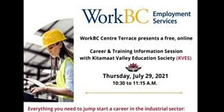 Career & Training Information Session: Kitamaat Valley Education Society tickets