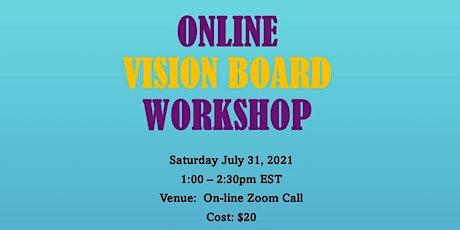 Online Vision Board Workshop biglietti