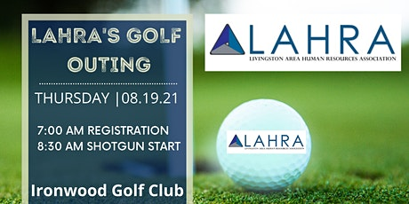 LAHRA Golf Outing tickets