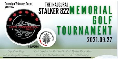 Stalker 822  Memorial Golf Tournament tickets