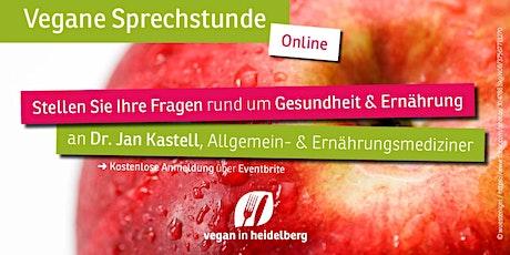 Vegane Sprechstunde Oktober Tickets