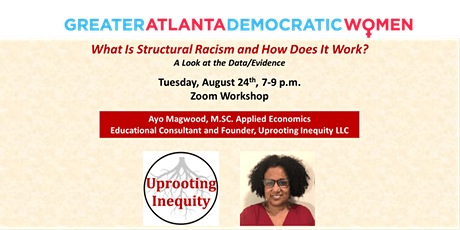 What Is Structural Racism & How Does It Work?   A Look at the Data/Evidence tickets