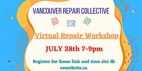 Virtual Repair Workshop tickets