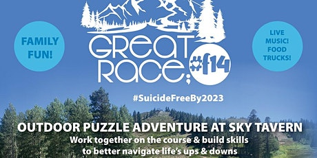 The 2nd Annual Great Race; #SuicideFreeBy2023 tickets