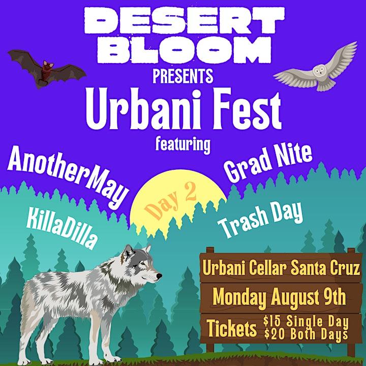 DESERT BLOOM's Urbani Fest image