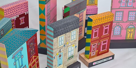 Create and paint a miniature wooden house! tickets