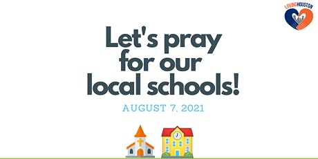 Back to School Prayer for Houston ISD tickets