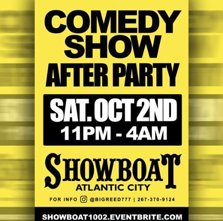 COMEDY SHOW AFTER PARTY image