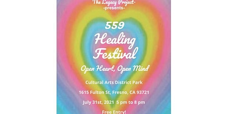 559 Healing Festival tickets