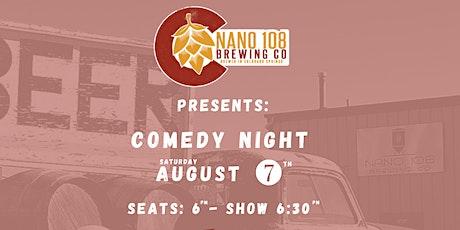 Comedy Night at Nano 108 Brewing tickets