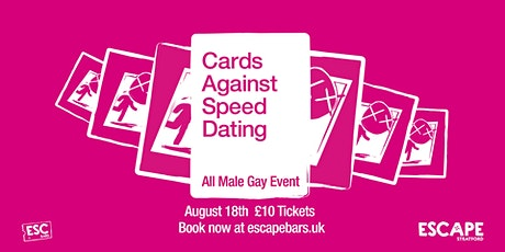 Cards Against Speed Dating: All Male Gay Night tickets