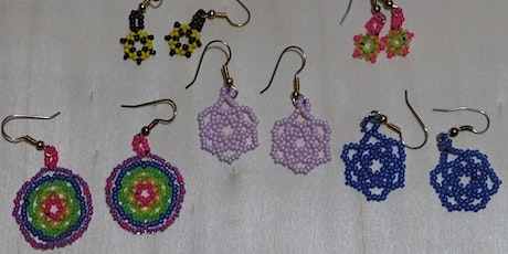 Making Beaded Flower & Charm Earrings with Haisla Collins tickets