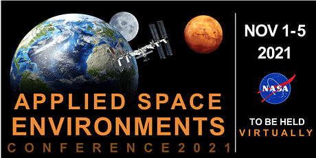 Applied Space Environments Conference (Virtual) 2021 tickets