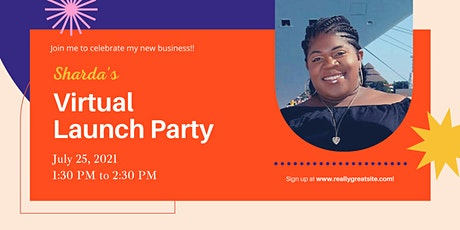 Sharda's Virtual Launch Party tickets