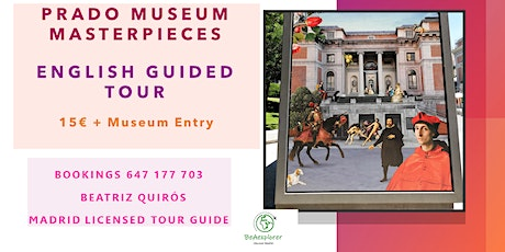 Prado Museum Guided Tour with Madrid Licensed Tour Guide tickets