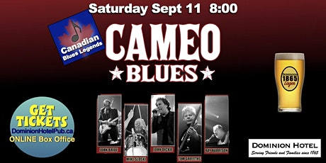 """Cameo Blues Band LIVE at the """"D"""" tickets"""