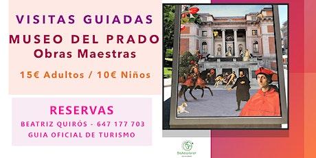 VISITA GUIADA OBRAS MAESTRAS DEL MUSEO DEL PRADO con Guia Oficial entradas