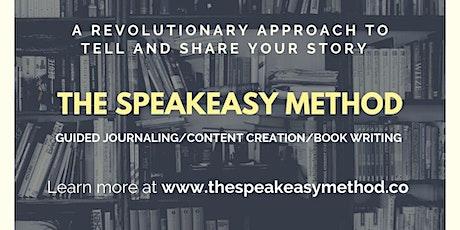 The SpeakEasy Method Webinar entradas