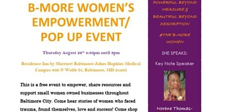 The Baltimore Women Empowerment Event tickets
