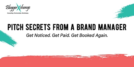 Pitch Secrets From A Brand Manager Ultimate Workshop tickets