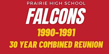 Prairie High School Class of '90 & '91 Saturday Evening Reunion Dinner tickets