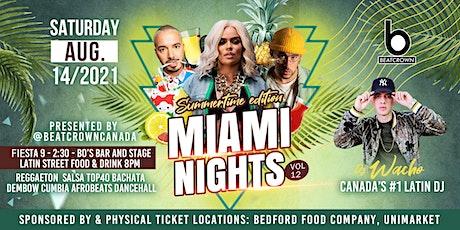 MIAMI NIGHTS XII tickets