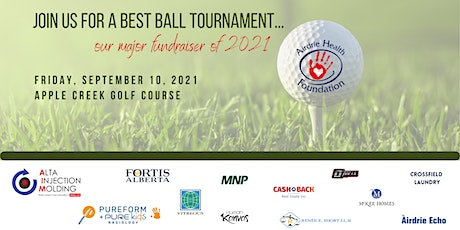 Airdrie Health Foundation Charity Golf Tournament tickets