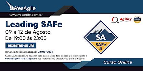 Leading SAFe com certificação SAFe® Agilist - Online - Português bilhetes