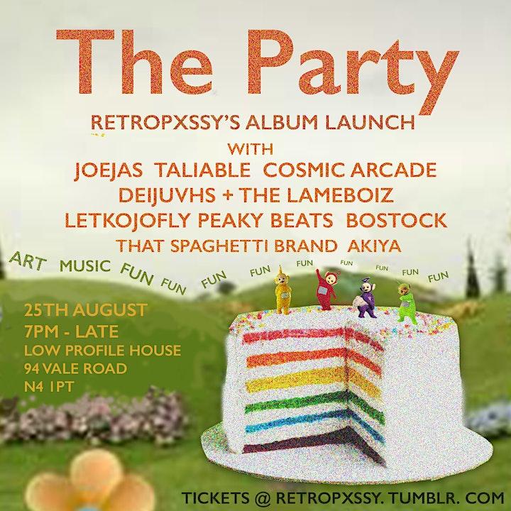 The Party: retro's album launch! image