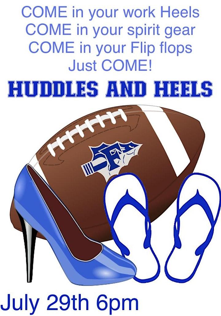 Huddles and Heels image