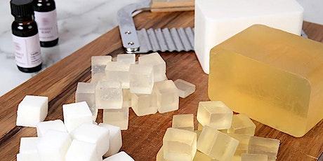 Curso: Glicerina sólida, bases fundibles para fabricar jabones ingressos