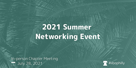 2021 Summer Networking Event (In-person) tickets