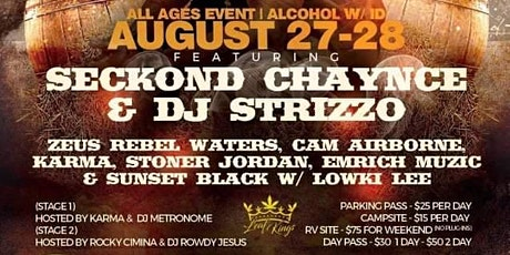 Karma Fest Featuring Seckond Chaynce and Dj Strizzo tickets