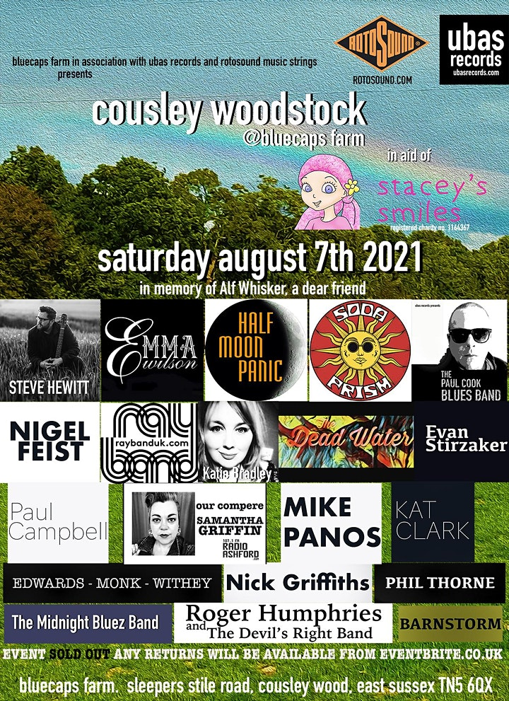 Cousley Woodstock Charity Picnic in aid of Stacey's Smiles image