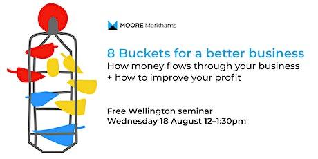 8 Buckets for a Better Business tickets