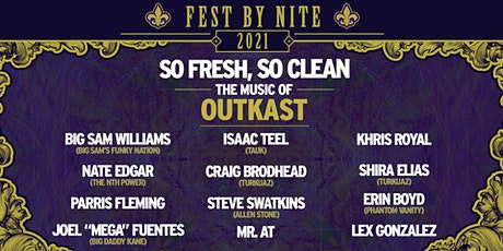 L4LM presents So Fresh, So Clean: The Music of Outkast (Fest by Nite) tickets