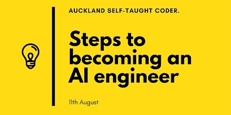 Steps to becoming an AI engineer tickets