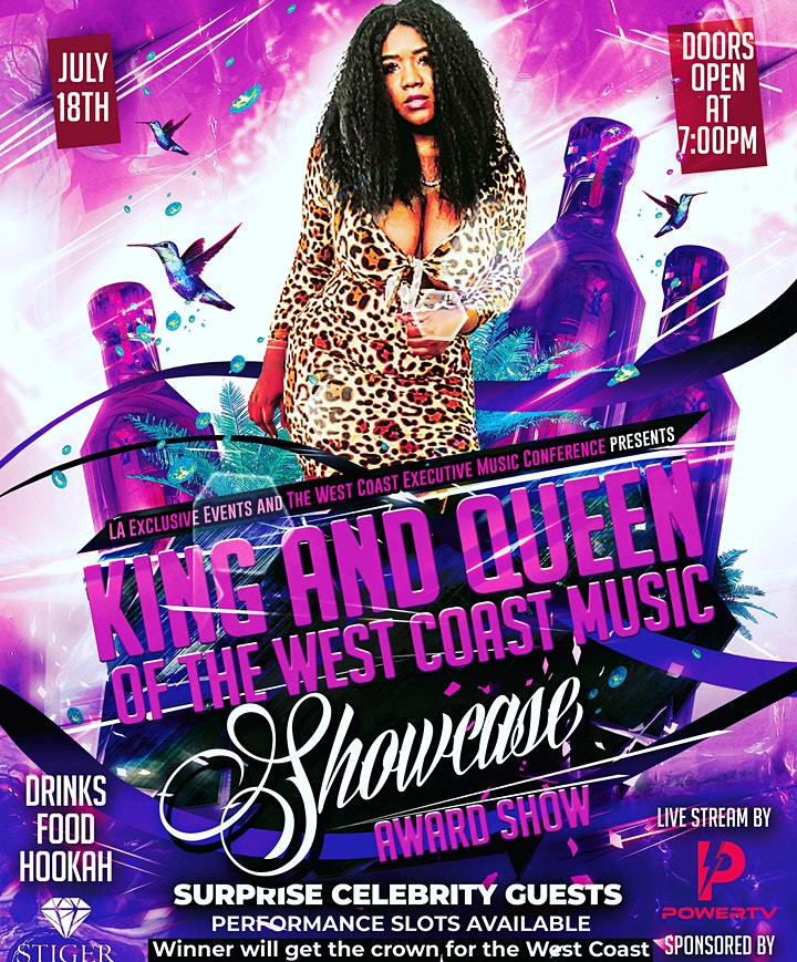 La Exclusive Event Presents The West Coast Music Awards and Showcase image