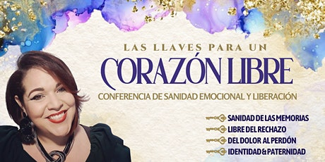 LAS LLAVES PARA UN CORAZÓN LIBRE tickets