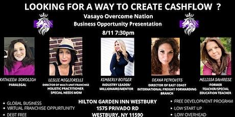 Virtual Franchise Opportunity Presentation tickets
